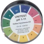 Unitest I Indikatorpapier pH 1-11