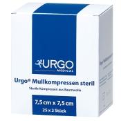 URGO Mullkompressen 7,5 x 7,5 cm steril