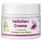 Veilchen Creme in Einklang mit Hildegard von Bingen
