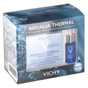 VICHY Aqualia Thermal Dynamische Feuchtigkeitspflege Creme Leicht + 7 ml Sérum GRATIS