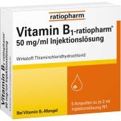 Vitamin-B1-ratiopharm® 50 mg/ml Injektionslösung Ampullen