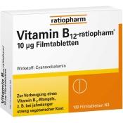 Vitamin-B12-ratiopharm® 10 µg Filmtabletten