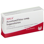 WALA® ACONITUM/CHINA comp. Suppos.