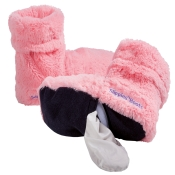 Warmies® Slippies™ Hot Boots Pink Gr. 37-42 mit herausnehmbarer Füllung