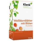 Weißdornblätter mit Blüten Arznei-Tee Klenk