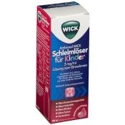 WICK Ambroxol Schleimlöser für Kinder