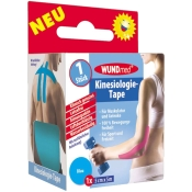 WUNDmed® Kinesiologie-Tape blau 5 cm x 5 m