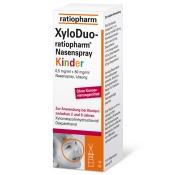 XyloDuo-ratiopharm® Nasenspray für Kinder
