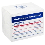 YPSIPAD Mullkompressen 8-fach unsteril 7,5 x 7,5 cm