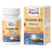 Zein Pharma® Vitamin D3 5000 I.E. Wochendepot
