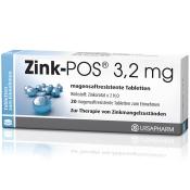 Zink-POS® 3,2 mg magensaftresistente Tabletten