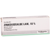 ZINKOXIDSALBE LAW 10%
