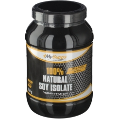 100% Natural Soy Isolate Pulver