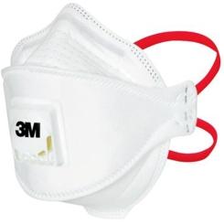 3M Aura Atemschutzmasken für den Medizinbereich 1873V+ FFP3