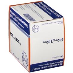 ABACAVIR/Lamivudin HEXAL 600 mg/300 mg Filmtabl.