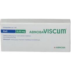 abnobaVISCUM® Mali 0,02 mg Ampullen