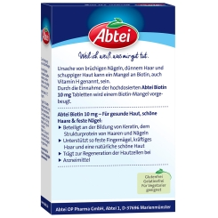 Abtei Biotin 10 mg