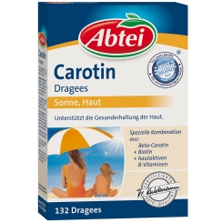 Abtei Carotin Dragees