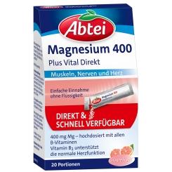 Abtei Magnesium 400 Plus Vital Direkt
