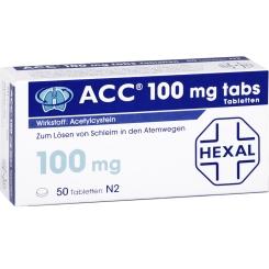 ACC® 100 mg tabs, Tabletten