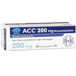 ACC® 200 mg Brausetabletten