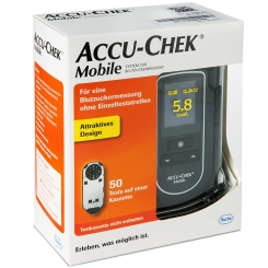 ACCU-CHEK® Mobile III Set mmol/L