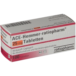 Ace Hemmer ratiopharm 25 Tabletten