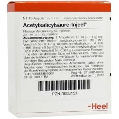 Acetylsalicylsäure-Injeel® Ampullen
