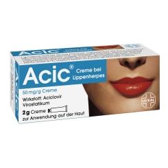Acic® Creme bei Lippenherpes