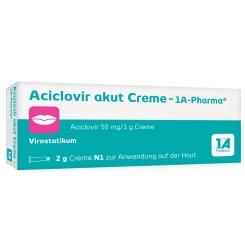 Aciclovir akut Creme - 1A Pharma®
