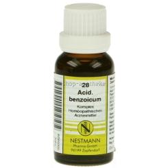 Acidum benzoicum 28 Komplex Dilution