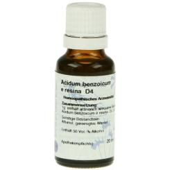 Acidum Benzoicum D 4 Hanosan Dil.