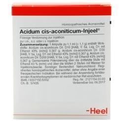 Acidum cis-aconiticum-Injeel® Ampullen