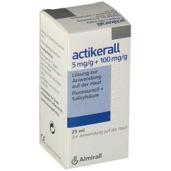 ACTIKERALL 5mg/g+100mg/g Lsg.z.Anw.a.d.Haut