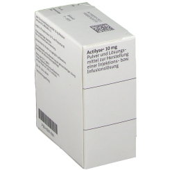 Actilyse 10 mg Tr.Subst.m.Lsg.M