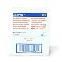 ADAPTIC® Nichthaftender Wundverband 7,6 x 7,6 cm