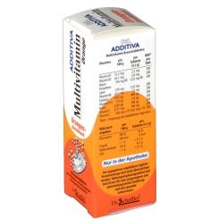 ADDITIVA® Multivitamin Brausetabletten Orangen-Geschmack