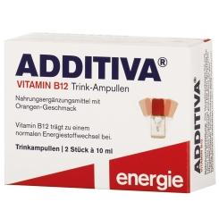 ADDITIVA® Vitamin B12 Trink-Ampullen