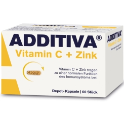 ADDITIVA® Vitamin C + Zink Depot 300 mg Kapseln