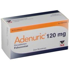 ADENURIC 120 mg Filmtabletten