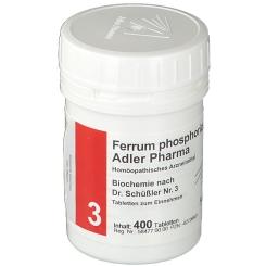 Adler Pharma Ferrum phosphoricum D12 Biochemie nach Dr. Schüßler Nr. 3