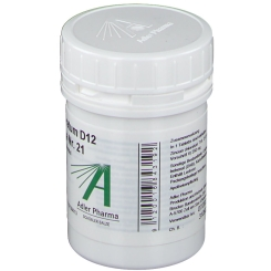 Adler Pharma Zincum chloratum D12 Biochemie nach Dr. Schüßler Nr. 21