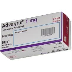 Advagraf 1 mg Retardkapseln