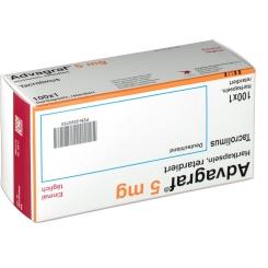 Advagraf 5 mg Retardkapseln