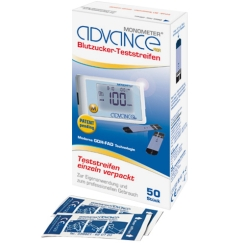 Advance Monometer® Blutzucker-Teststreifen GDH single