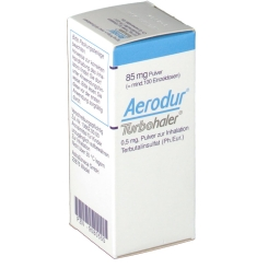 AERODUR Turbohaler ohne Treibgas 100