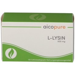 aicopure L-Lysin 500 mg