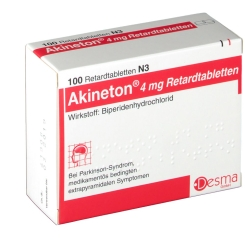 Akineton retard Tabletten
