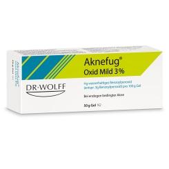 Aknefug® Oxid Mild 3% Gel