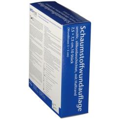 aktivmed Schaumstoffwundauflage sensitiv 7,5 x 7,5 cm
